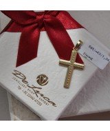 YELLOW GOLD CROSS K14 1.04 GR 511966040010