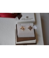 GOLD EARRINGS WITH CRYSTAL 14 K 1,8 gr KOD  810405060010