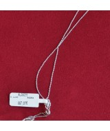 WHITE GOLD CHAIN K14 0.80 GR AL00038