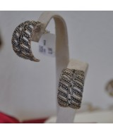 SILVER EARRINGS 925  7.60GR SG01142