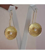 SILVER EARRINGS 925  WITH PEARL 11.90GR SG01804