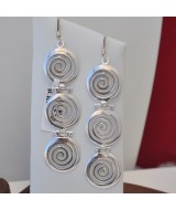 SILVER EARRINGS 925 9.70GR SM00396